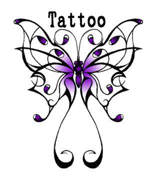 313x353 Tribal Edge Tattoo Clip Art