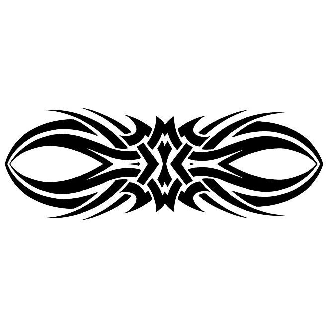 660x660 Tribal Tattoo Clipart Free Vector Freevectors