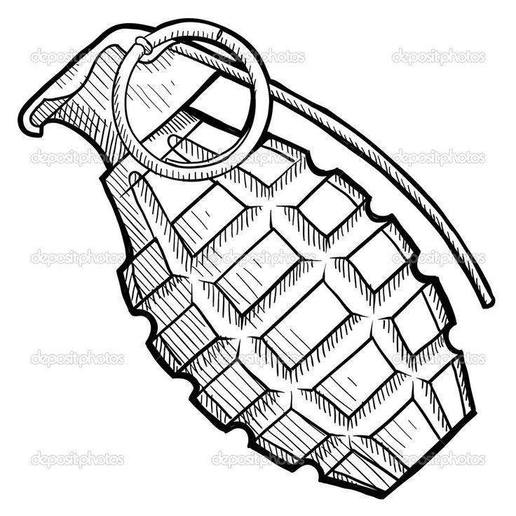 736x736 Best Grenade Tattoo Ideas War Tattoo, Gun