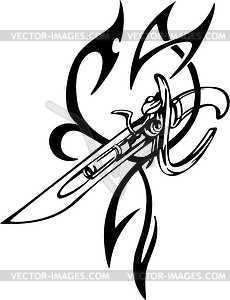 230x300 Tattoo Artist Gun Clipart