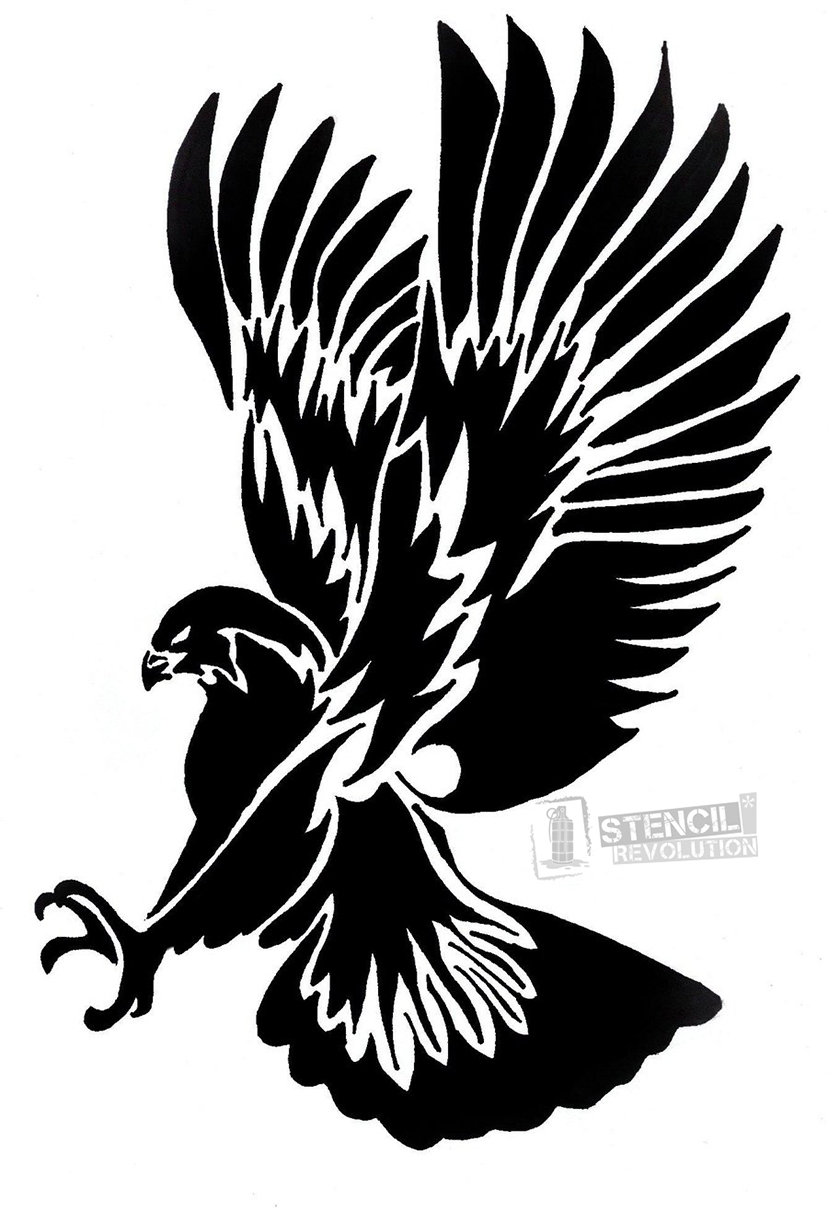 828x1211 Eagles Stencils Printable Stencils, Stenciling And Free