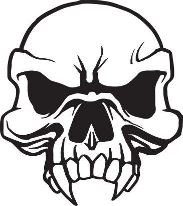 365x410 Learn How To Draw A Skull Tattoo Design, Skull Tattoo Design
