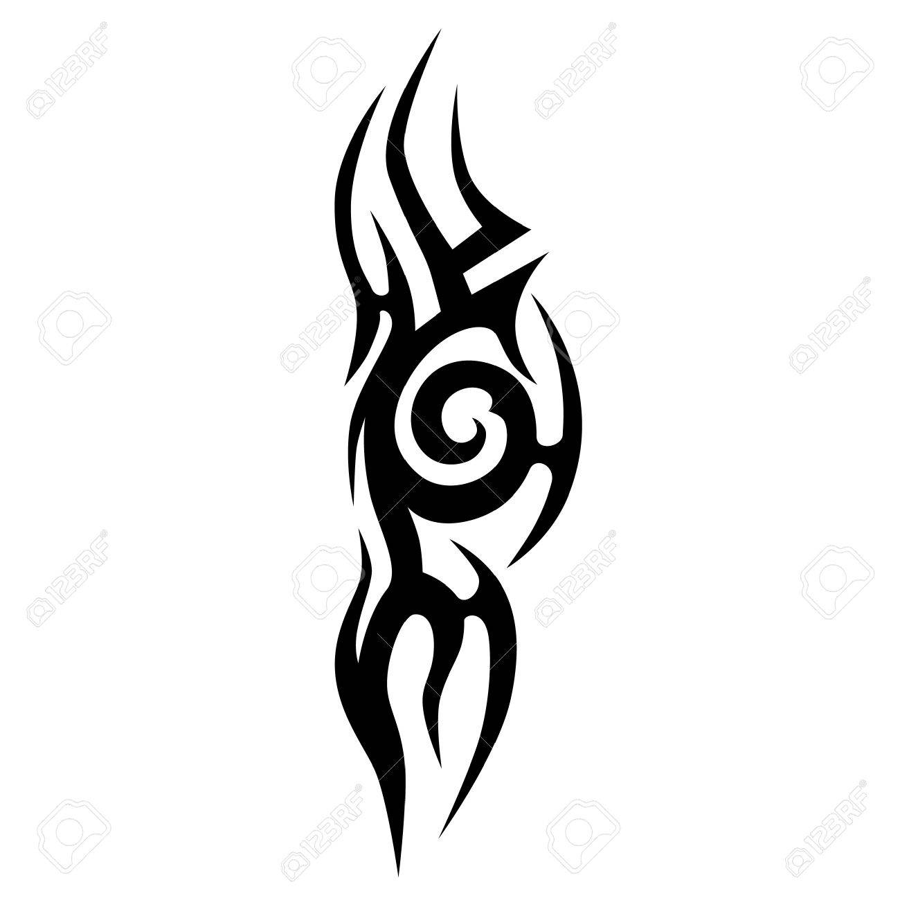 1300x1300 Scroll Tattoo Tribal Vector Designs. Tribal Tattoos. Art Tribal