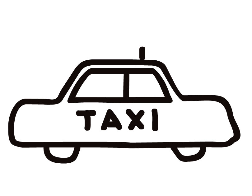 Taxi Cab Clipart   Free download on ClipArtMag