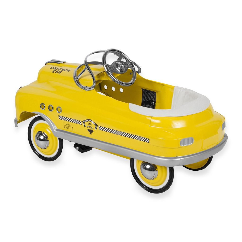 1024x1024 Yellow Taxi Cab Comet Pedal Cars By Airflow Collectibles