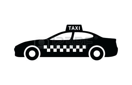 450x289 Taxi Clipart Taxi Car Line Icon Transport And Automobile Sedan
