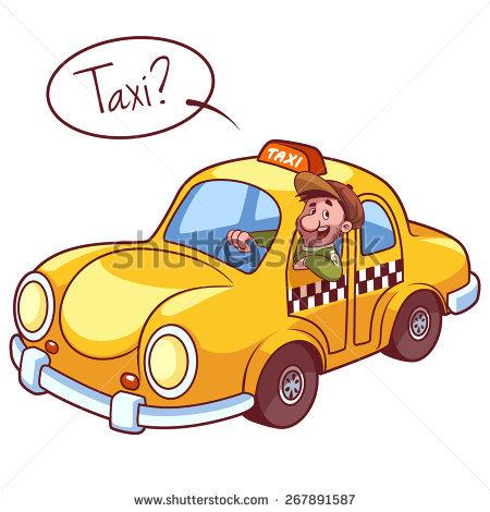 450x470 Unusual Clipart Taxi Driver
