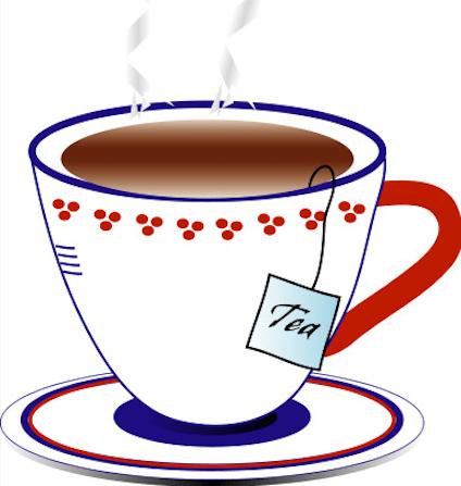 424x447 Tea Cup Clipart Chinese Tea