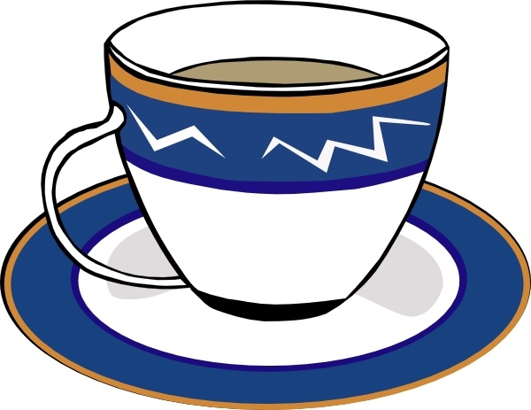 600x463 Tea Cup Clipart Cup Saucer
