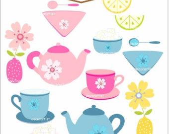 340x270 Tea Cup Clipart Tea Set