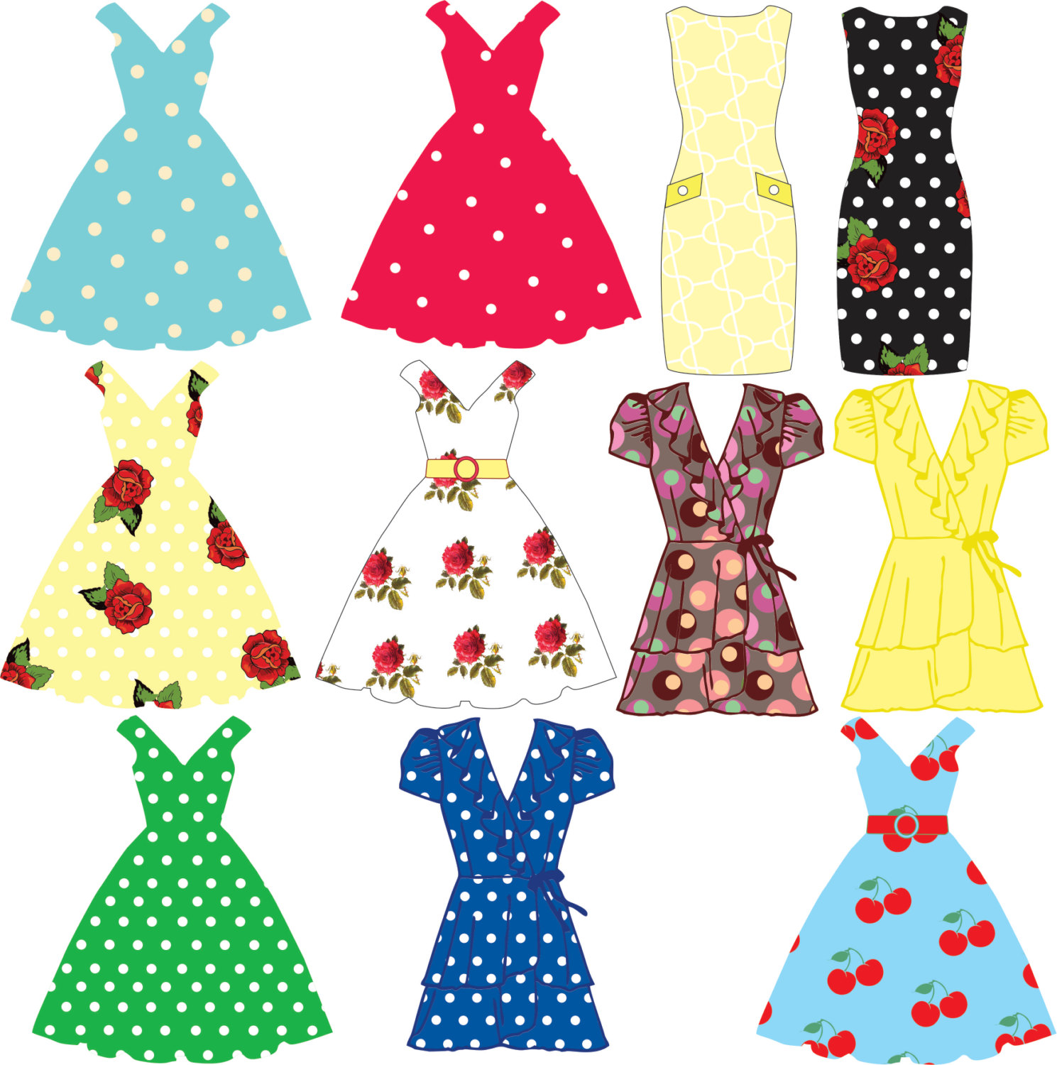 1489x1500 Tea Party Dress Clip Art, Tea Party Dresses, Tea Party Bunting