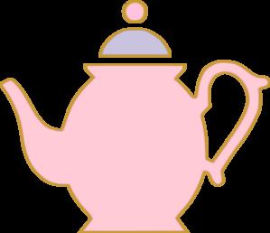 299x258 Pink Teapot Clip Art