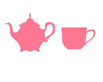 340x270 Pink Teapot Cliparts 244993