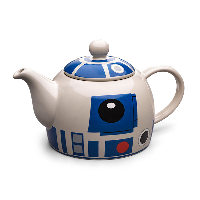 650x650 Star Wars R2 D2 Ceramic Teapot Thinkgeek