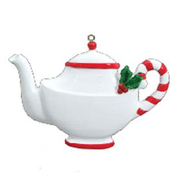 350x386 Tea Pot Personalized Christmas Ornament