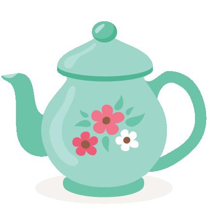 432x432 Tea Pot Svg Scrapbook Cut File Cute Clipart Files For Silhouette