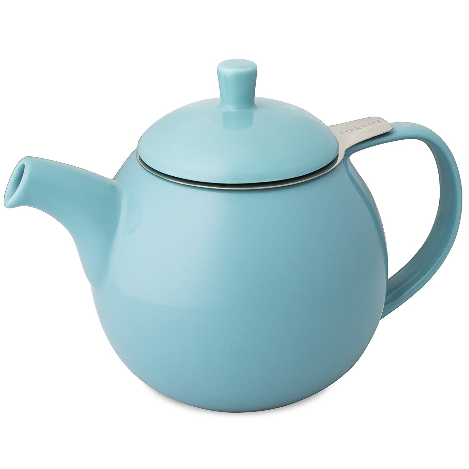 1500x1500 Forlife Curve Teapot With Infuser, 24 Ounce