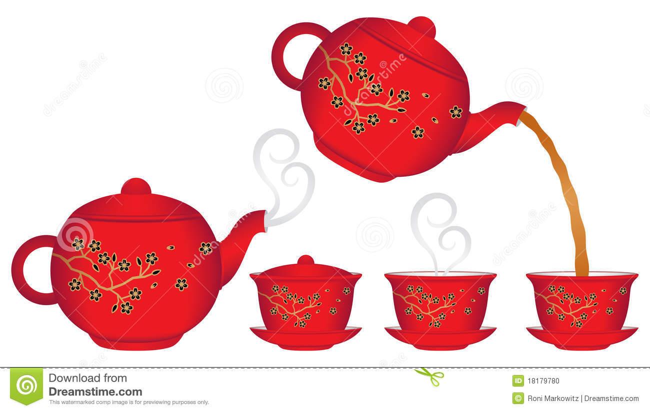 1300x825 Asian Clipart Teapot