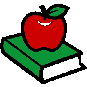 300x300 Free Teacher Apple Clipart Image