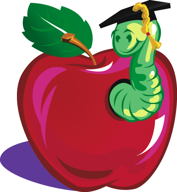 575x622 Teacher Apple Clipart