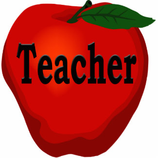 324x324 Teacher Apple Photo Statuettes, Cutouts Amp Sculptures Zazzle