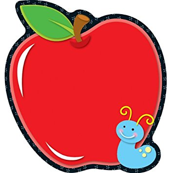 347x355 Carson Dellosa Apple Notepad (151020) Teacher Apple