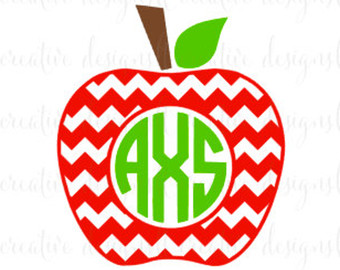 340x270 Teacher Apple Svg Etsy