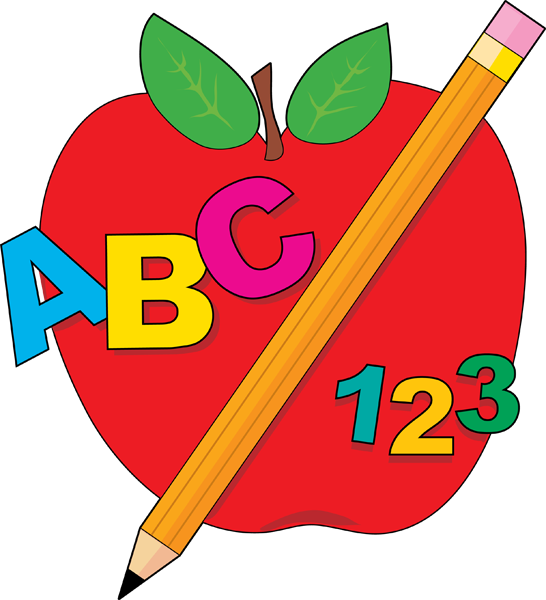546x600 Best Teacher Apple Clipart