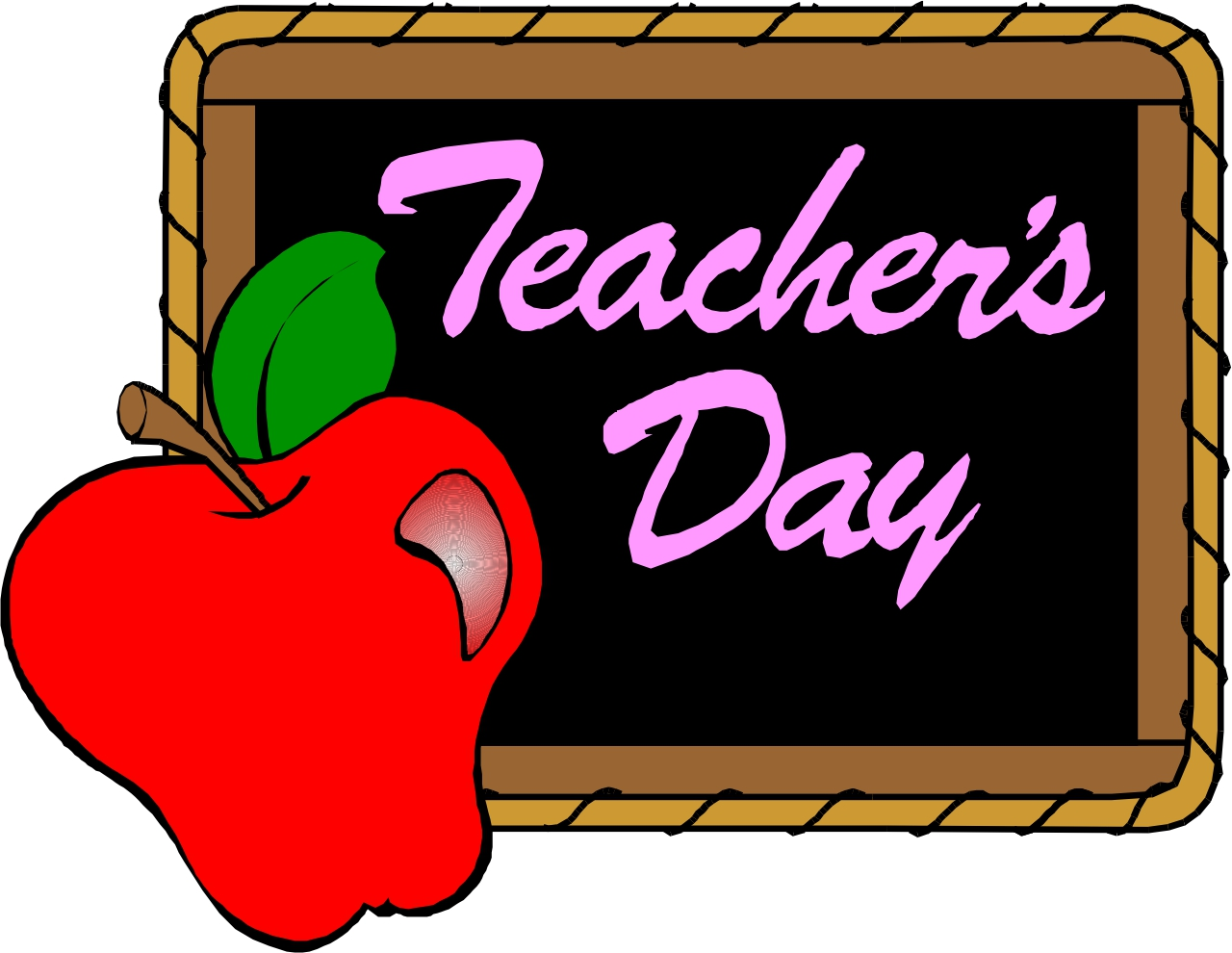 1280x990 Best Teacher Apple Clipart
