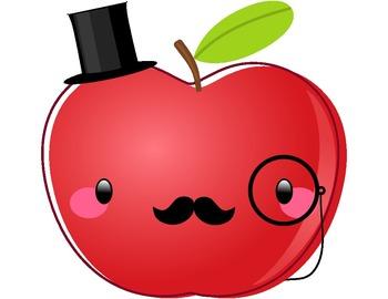 350x270 Cute apple clip art free clipart images