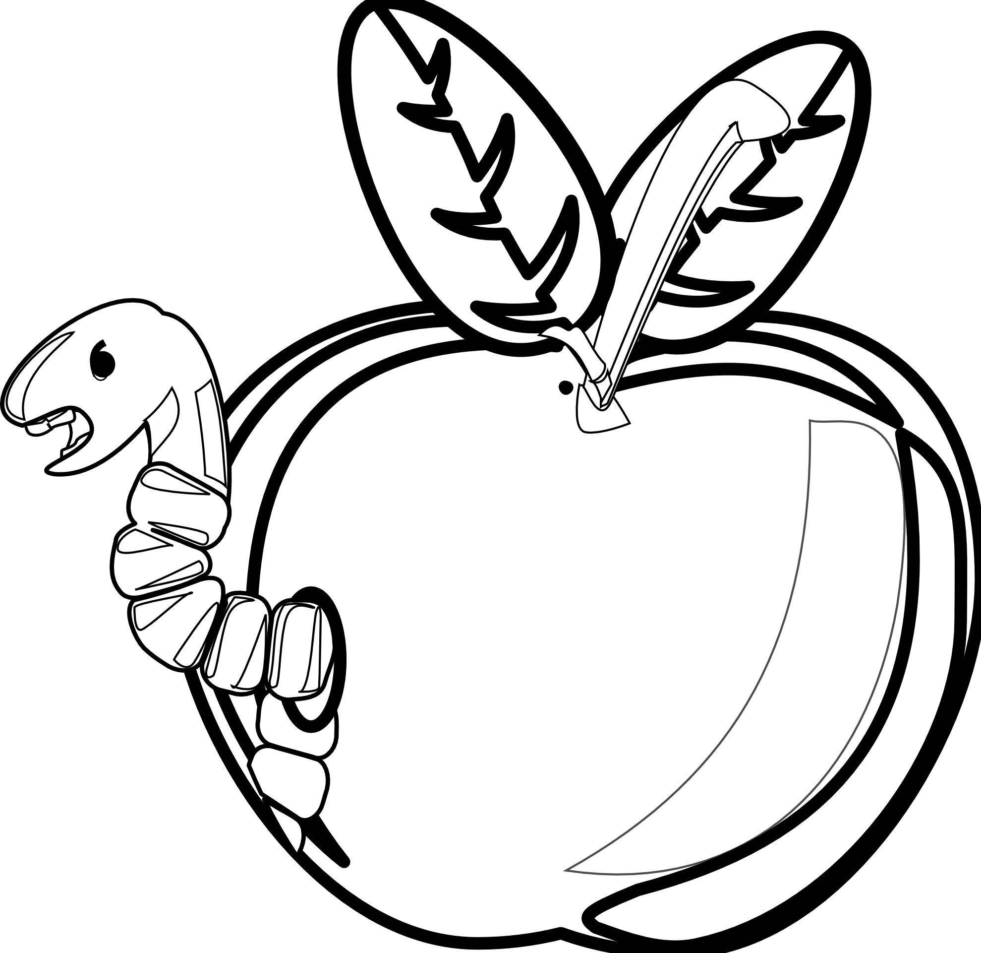 1979x1921 Apple Black And White Apple Black And White School Apple Clip Art