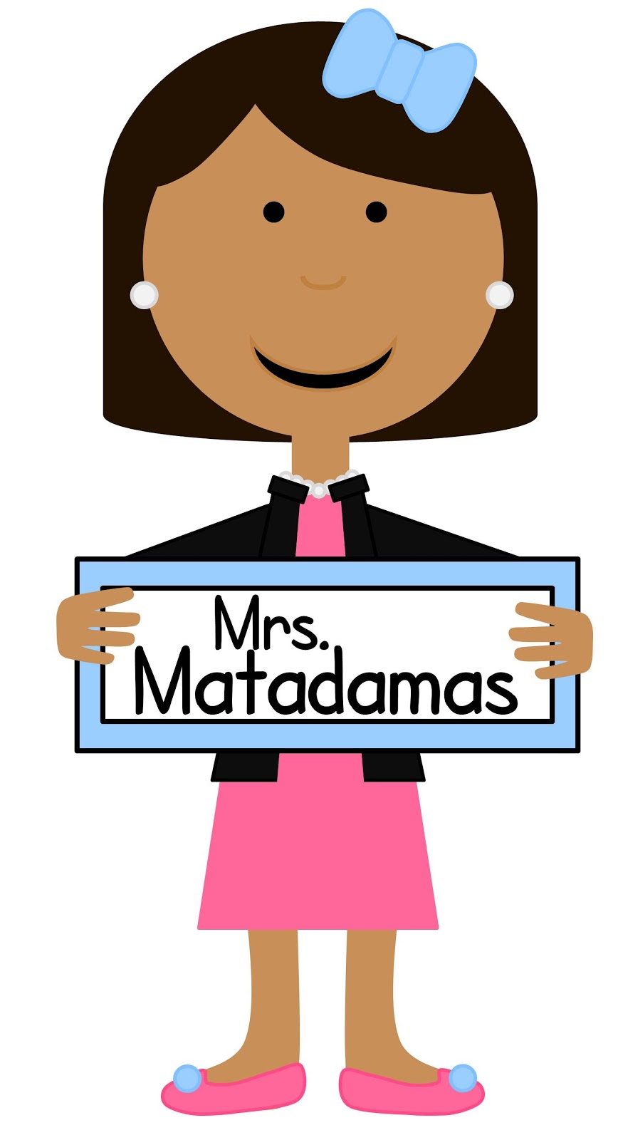868x1600 Cute Teacher Clipart Biezumd