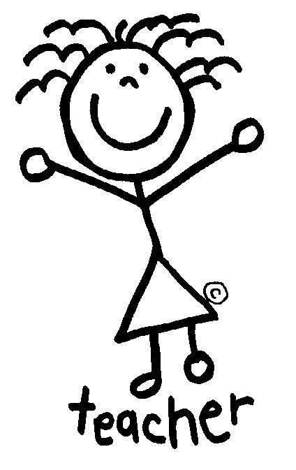 424x673 Drawing Teacher Clipart