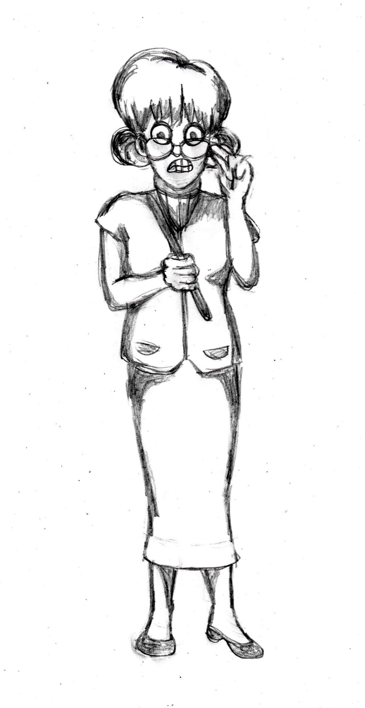 1403x2716 Drawing Tutorial Of A Teacher Children