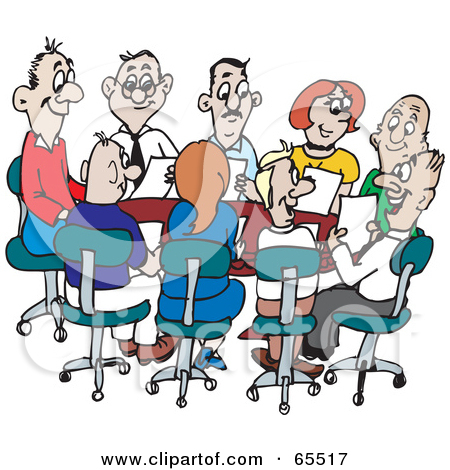 450x470 Office Clipart Office Meeting