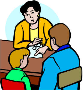 276x299 Parent Teacher Clipart