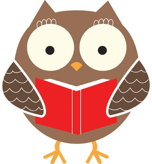 500x540 Smart Owl Clip Art