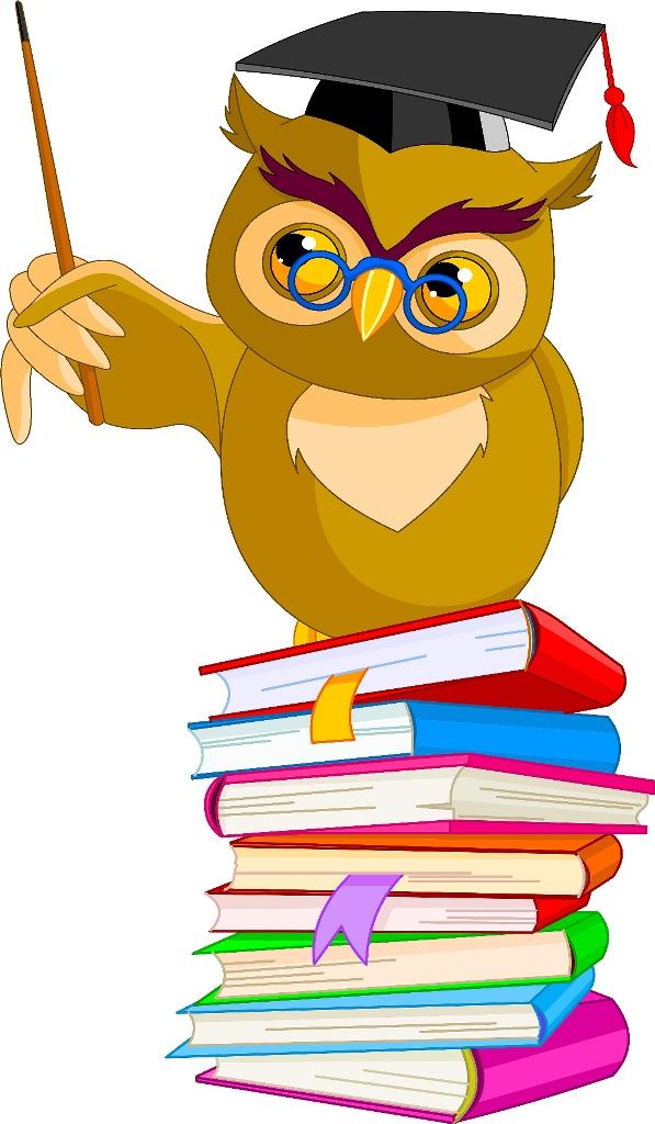 597x1024 Wisdom Owl Clipart