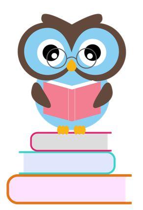 292x429 Owl Teacher Clipart