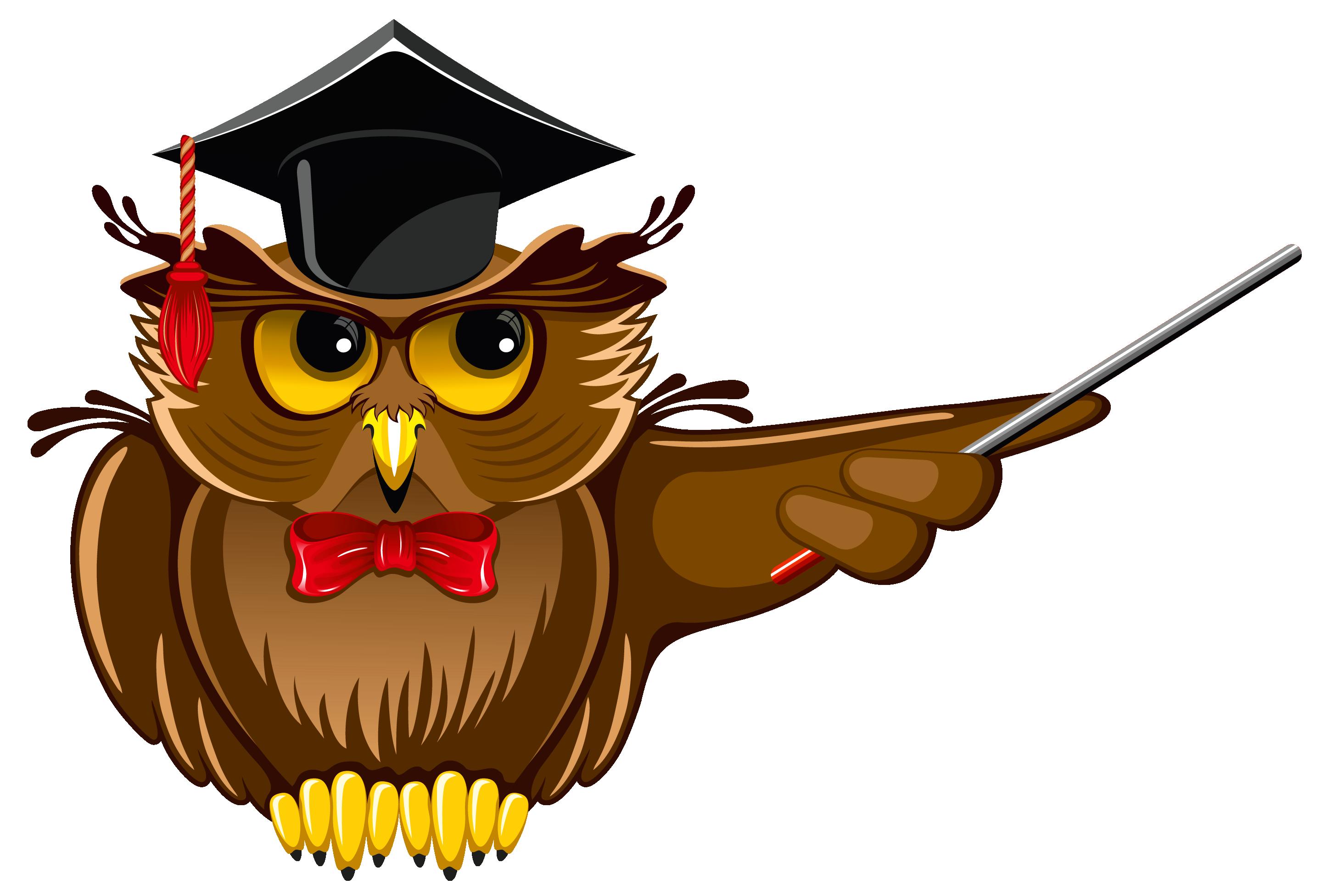 2878x1953 Teacher Owl Clipart