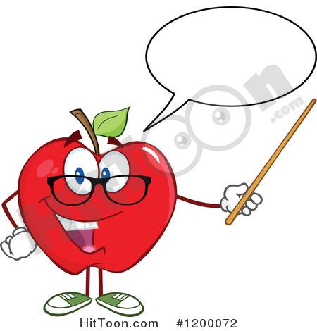 450x470 Apple Teacher Clipart