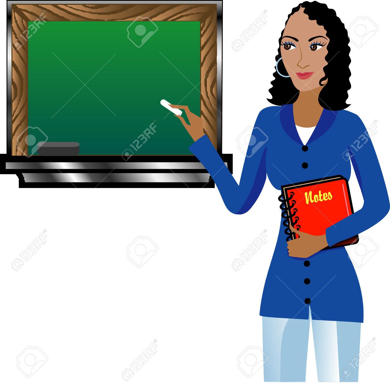 1300x1279 Black Teacher Clipart 101 Clip Art