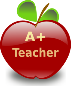 Teachers Apple Clipart