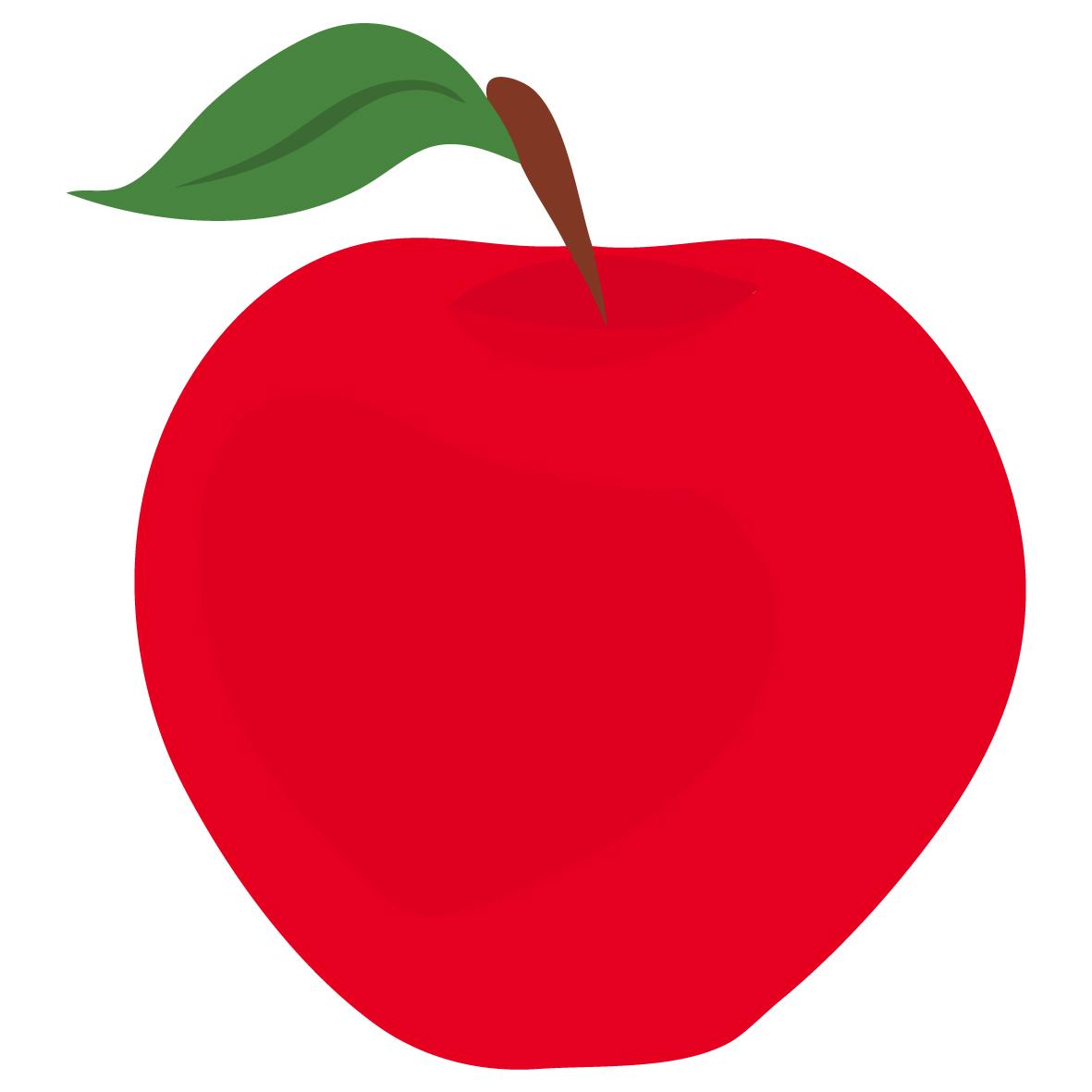 1181x1181 Red Apple Clip Art
