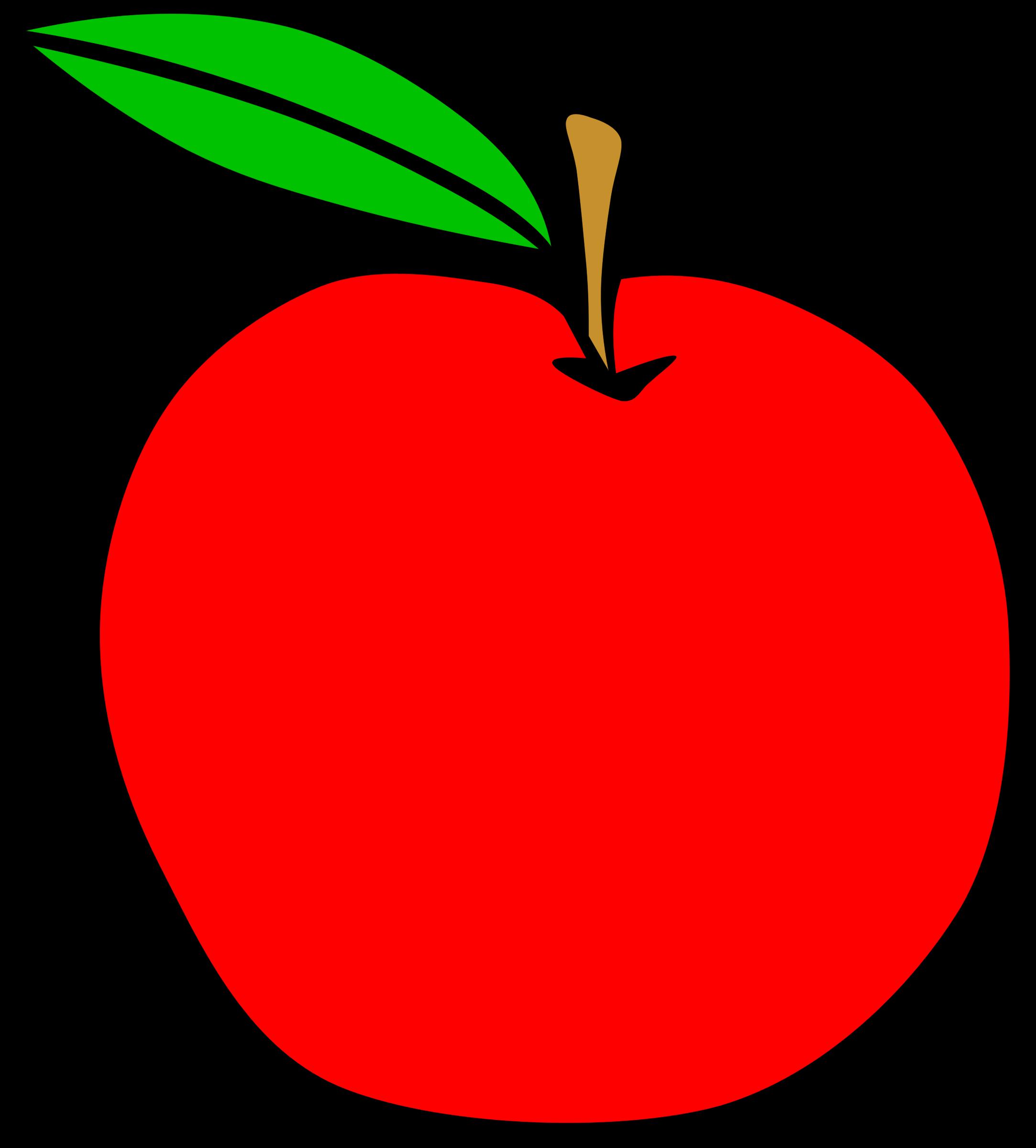 2166x2400 Apple Clipart Simple