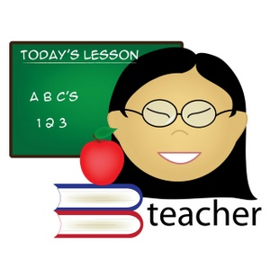 300x300 Teacher Apple Clipart Free Images 6