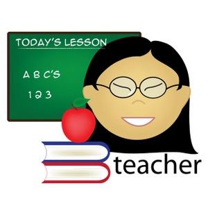 300x300 Teacher Clipart Image