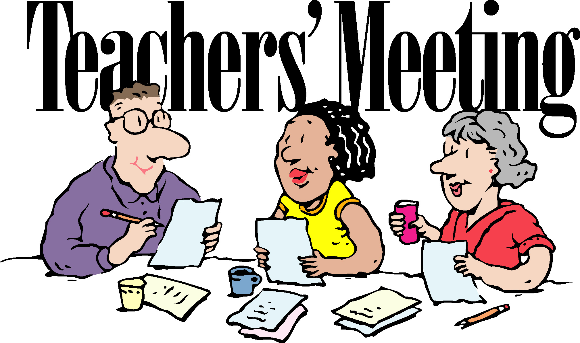 2018x1196 Meetings Clipart