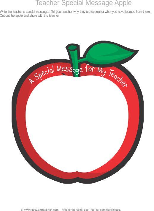 519x708 The Best Apple For The Teacher Ideas Apple