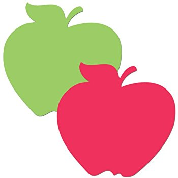 350x350 Carson Dellosa Die Cut Shapes Apples (5555) Themed
